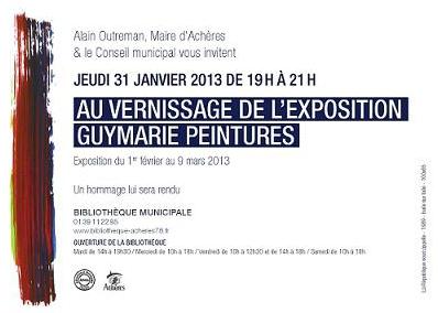 Vernissage De L Exposition Guymarie Peintures Jeudi 31 Janvier
